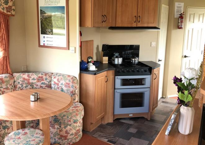 Fairways self catering accommodation, Perranporth Golf Course, Cornwall