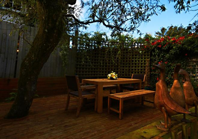 Al Fresco at Trenderway Farm, Bed and Breakfast, Looe, South Cornwall