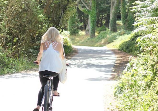 Tresco Island Activities, Cycling