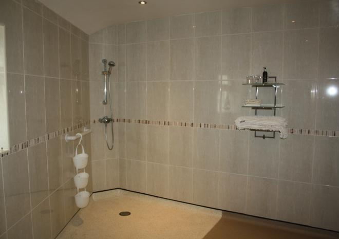 Wet room in Neptune Bed and Breakfast in Cornwall