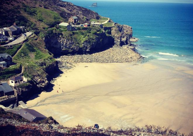 Trevaunance Cove | St Agnes | Beaches in Cornwall