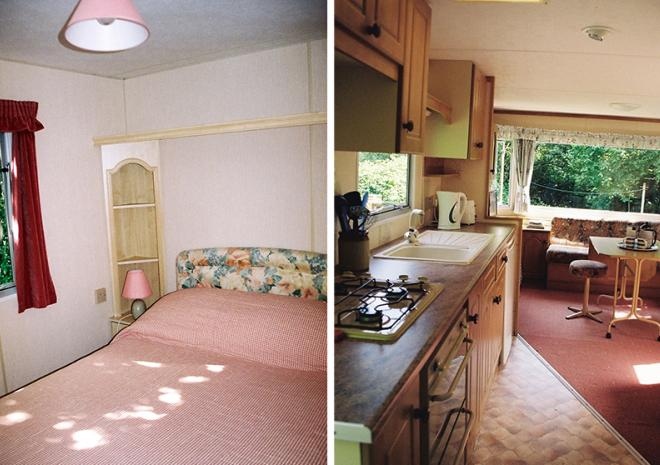 Coombe Caravan Holiday Home, Lelant, St Ives, Cornwall