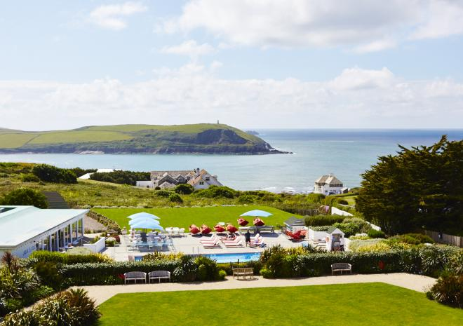 Dining in Cornwall at the St Moritz Hotel Wadebridge