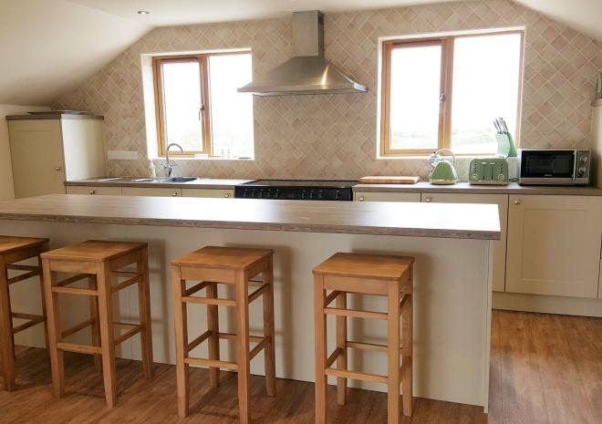 Treworgans Holiday Park, self catering cottage, North Cornwall, Kitchen