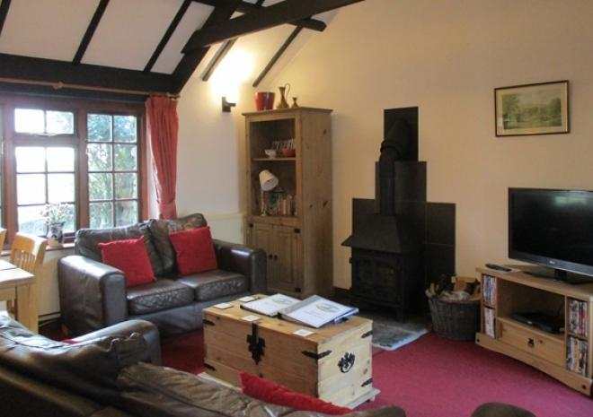 Hallagenna Cottages, Self catering cottages, Bodmin Moor, Cornwall, Ladydown Living room