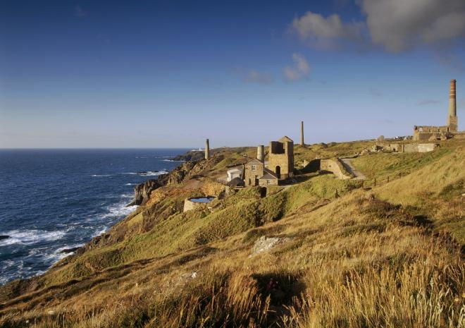 Levant Mine, World Heritage Site, St Just, West Cornwall C National Trust, David Noton