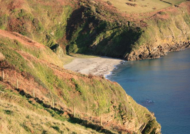 Little Lantic Bay, Polperro, Cornwall
