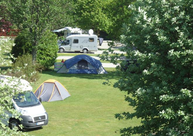 Caravan site Cornwall , Campsite Cornwall , Holiday Park Cornwall , Little Winnick , Pentewan