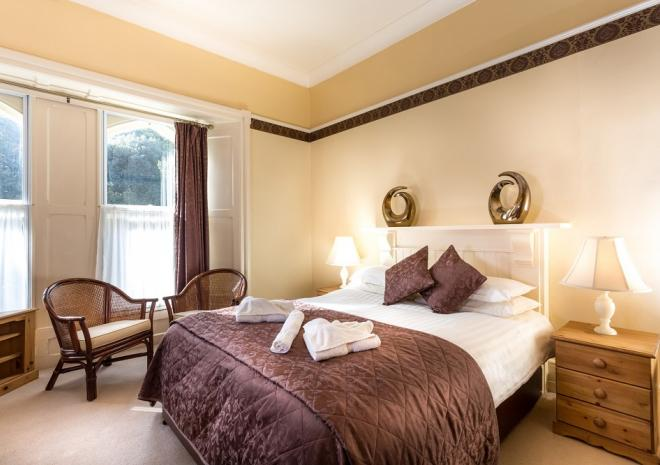 Penmorvah Manor Hotel, Falmouth, Cornwall - Manor Double Room