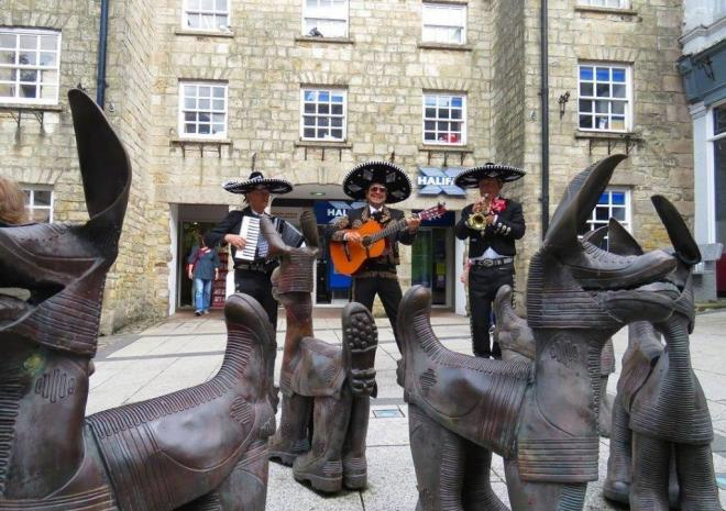Redruth Mining and Pasty Festival, Cornwall