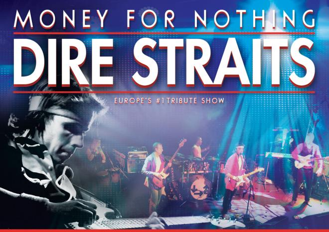 Money for Nothing, Dire Straits, Hall for Cornwall, Whats on, January 2018