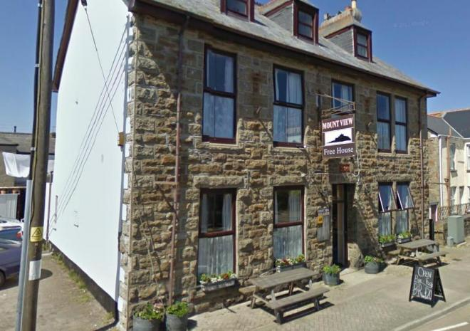 Mount View Hotel, Bed and Breakfast, Penzance, West Cornwall