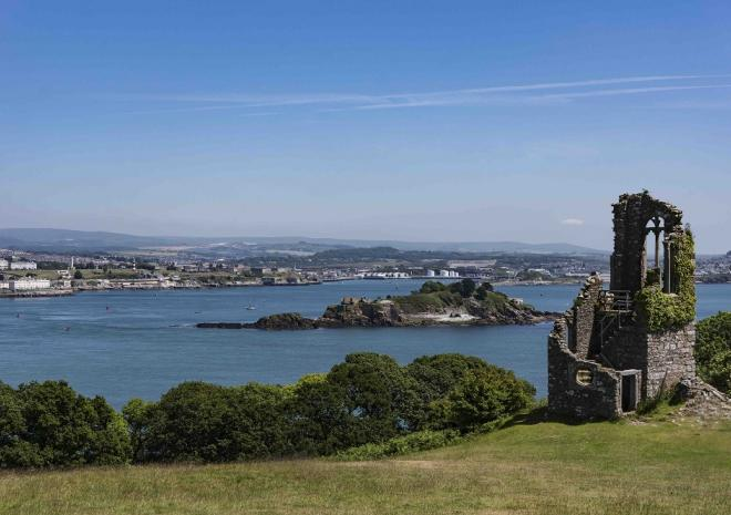 Select South West Tours, Luxury Guided tours, Mt Edgcumbe,  Cornwall