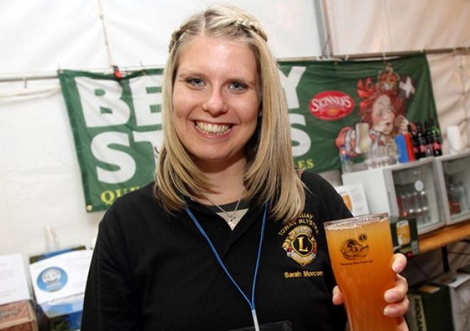 Newquay Beer Festival, charity event, Cornwall