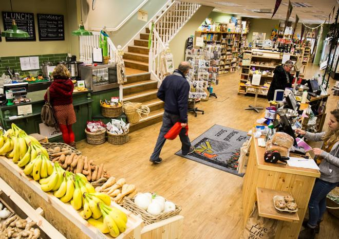 Natural Store Cafe, Deli & juice bar, Falmouth, South Cornwall, Food & Drink
