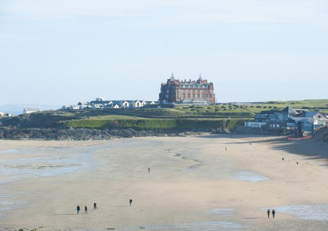 Beaches in Newquay Cornwall | Fistral Beach  c Visit Cornwall / Adam Gibbard