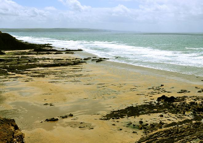 Northcott Beach, Bude, North Cornwall,