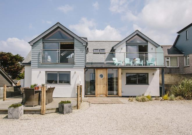 Self-catering accommodation, Polzeath, North Cornwall