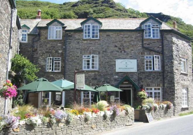 Bridge House Bed and Breakfast, Boscastle, Cornwall