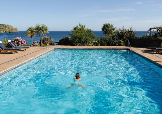 Outdoor Pool at The Nare Hotel