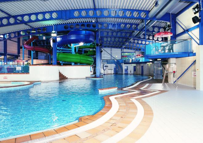 Oasis Fun Pools, Hendra Holiday Park, Newquay, Swimming,