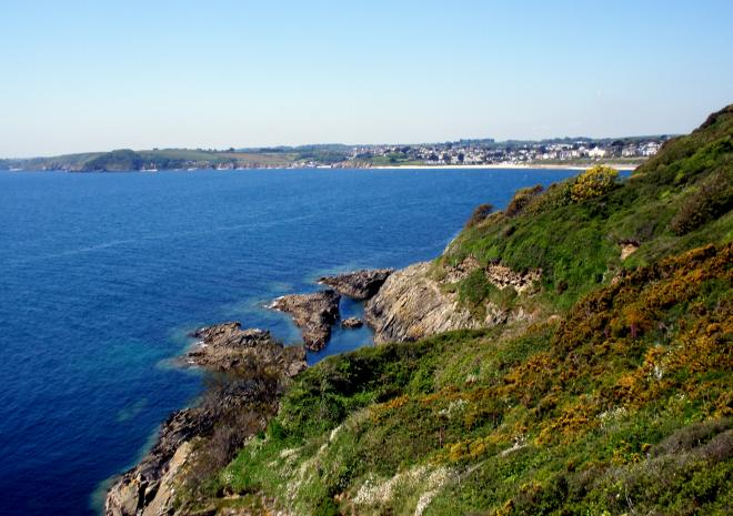 Falmouth Bay from Pendennis Point