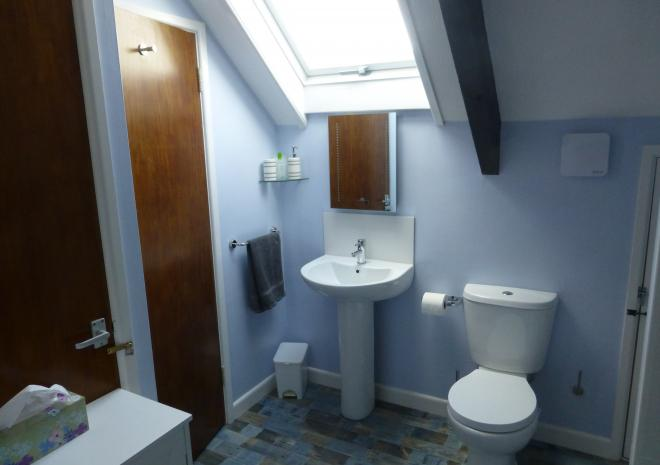 Beaver Cottages - Smithy bathroom