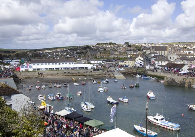 Porthleven Food Festival, Events in Cornwall, Food & Drink