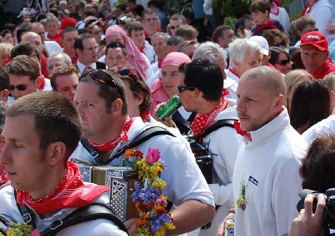 Padstow May Day, Obby Oss, Cornwall