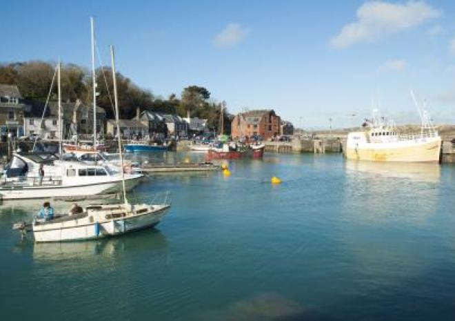 Padstow Harbour, Cornwall c Adam Gibbard/Visit Cornwall