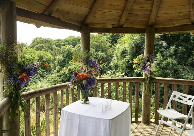 Tremenheere Sculpture Gardens, weddings venues in Cornwall
