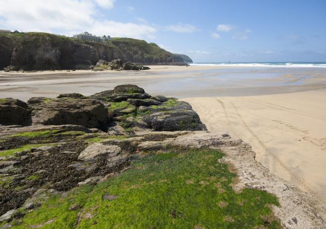 Beaches in Perranporth Cornwall | Perranporth Beach c Adam Gibbard