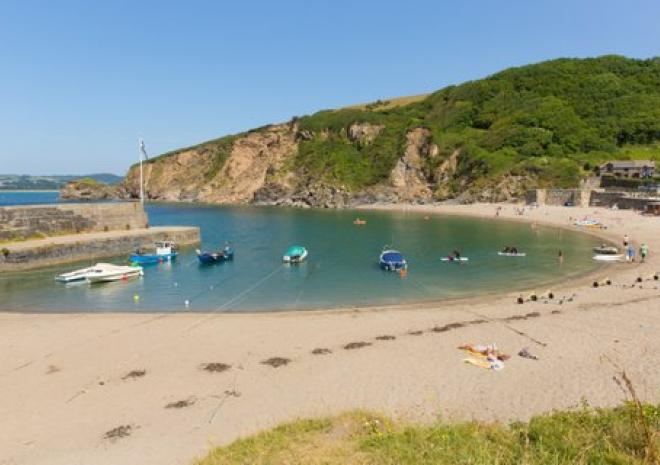 Holiday cottages near Cornwall south coast Polkerris ST Austell