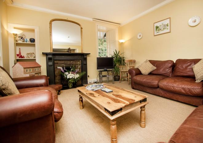 Guest Lounge at Bed and Breakfast in Cornwall | Polraen Country House | Looe | Cornwall