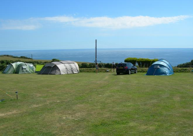 Polruan Holidays, Caravan and Camping near Fowey, Cornwall