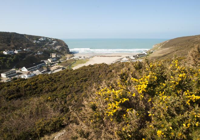 Porthtowan Beach Cornwall | Beaches in Cornwall c Adam Gibbard