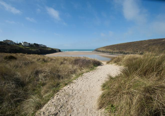 Porthcothan Bay | Padstow | Beaches in Cornwall