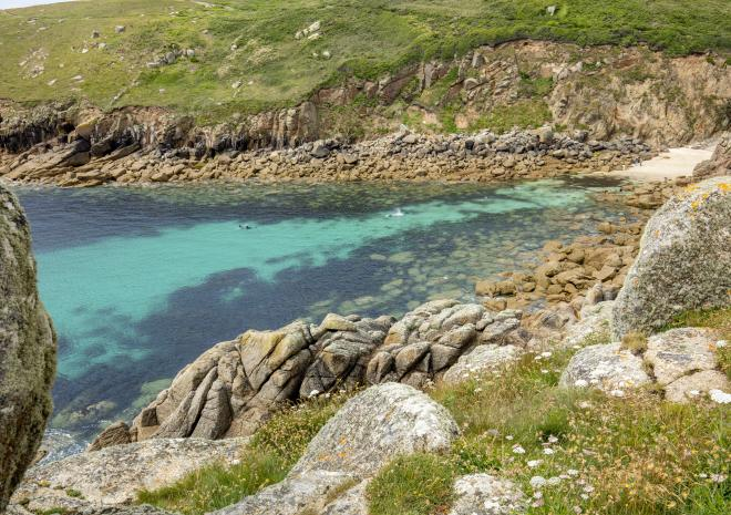 Porthgwarra Cove, Lands End, West Cornwall, Poldark