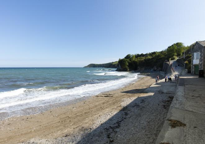 Porthpean Beach, St Austell, South Cornwall