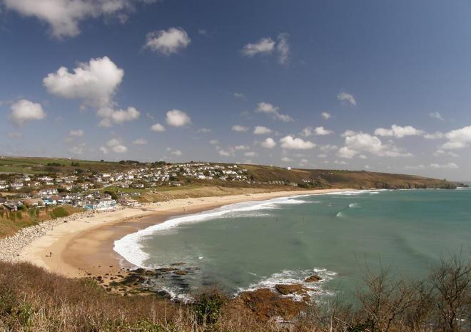 Praa Sands Beach, Penzance, Cornwall
