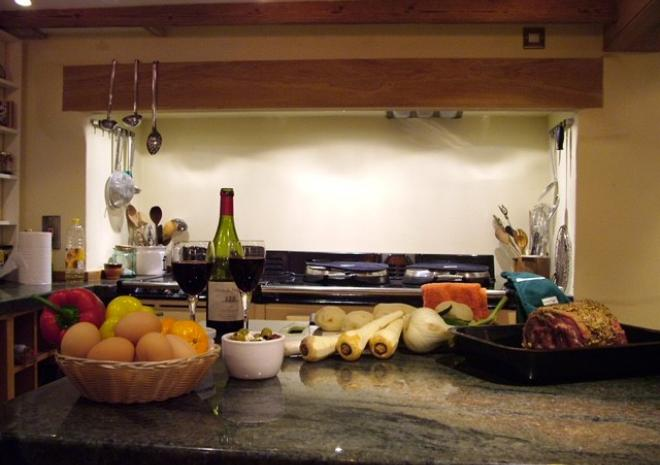 The Riverside, Self Catering Cottage, Helford, South Cornwall, Dining