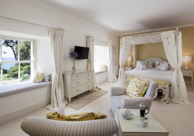 Room 1, Talland Bay Hotel, Looe, Cornwall