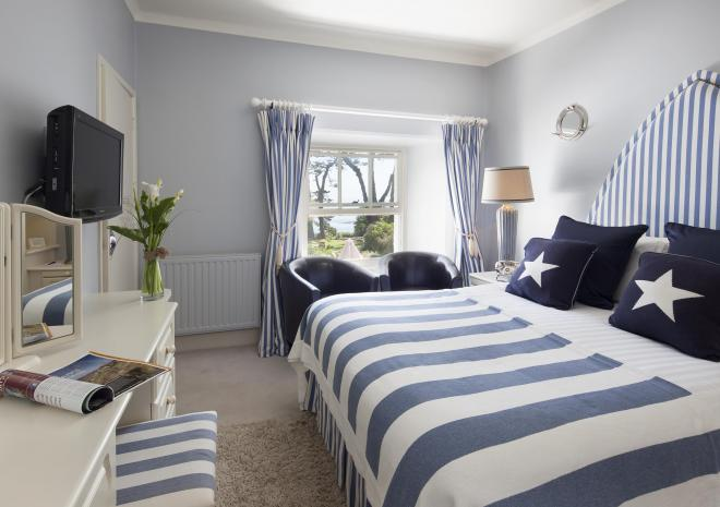 Room 3, Talland Bay Hotel, Looe, Cornwall