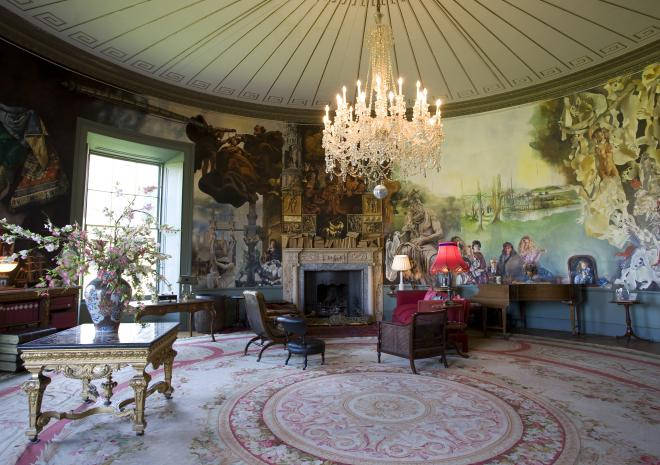 Historic House in Cornwall | Port Eliot House and Garden | Port Eliot | St Germans | Round Room