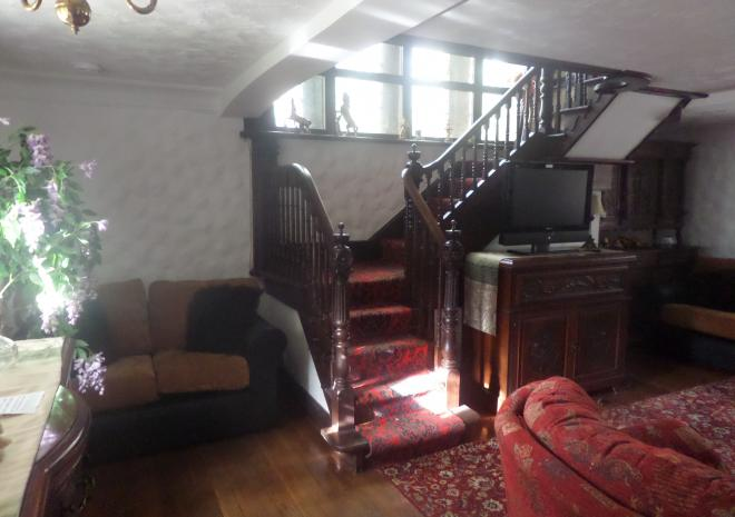 Living Room and Feature Staircase