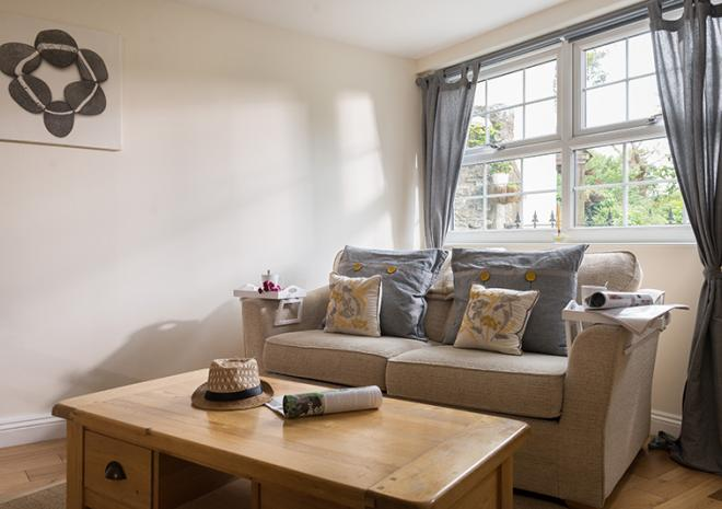 Old Coach House, Self Catering for 2 people, South Cornwall, Mid Cornwall, Roseland, Truro