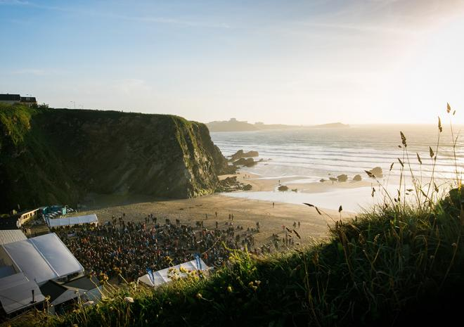 Lusty Glaze 2018 Sundowner Sessions, Cornwall, what's on