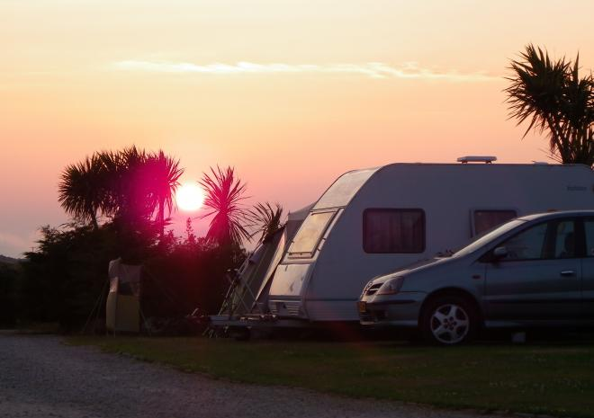 Roselands Caravan and Camping Park, Land's End, West Cornwall