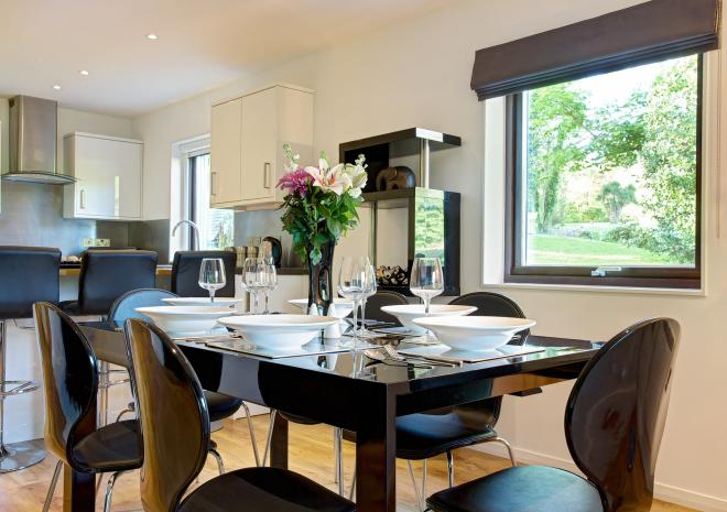 Clowance Estate , Self Catering , West Cornwall, Clowance Lodge, Dining Room