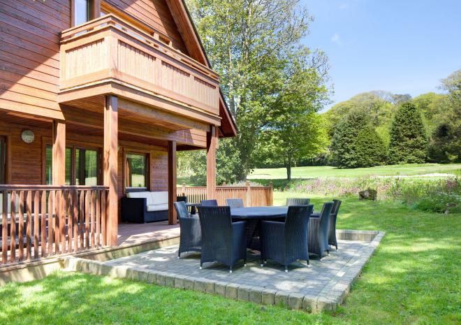 Clowance Estate , Self Catering , West Cornwall, Clowance Lodge